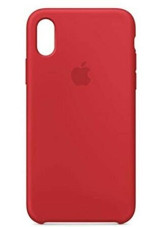 Case de Silicona iPhone X-Xs  - Rojo