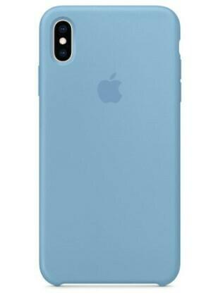 Case de Silicona iPhone X-Xs  - Azul Cielo