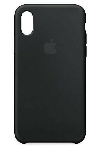 Case de Silicona iPhone X-Xs  - Negro