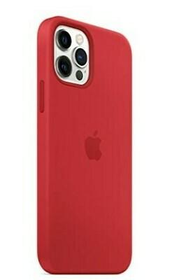 Case de Silicona iPhone 12 / Pro - Rojo