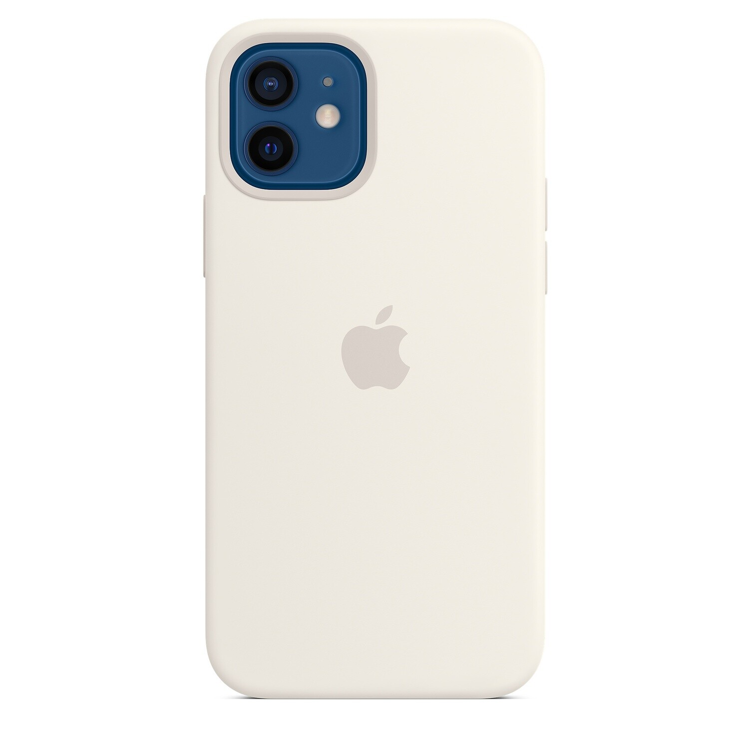 Case de Silicona iPhone 12 / Pro - Blanco