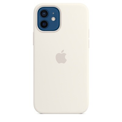Case de Silicona iPhone 12 / Pro - Blanco