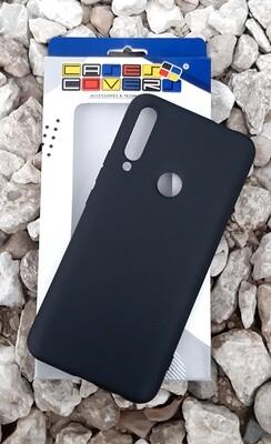 Case Silicona Huawei Y9 Prime, Negro