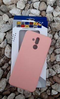 Case Silicona Huawei Mate 20 Lite, Rosa Pastel