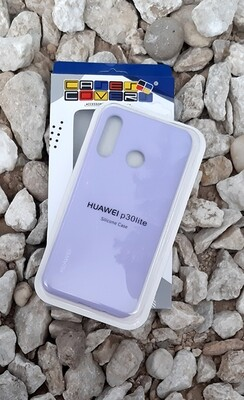 Case silicone Huawei P30 Lite, Lila