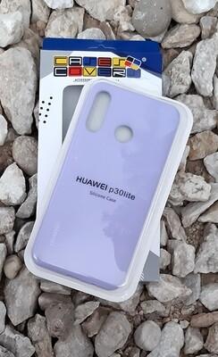 Case silicone Huawei P20 Lite, Lila