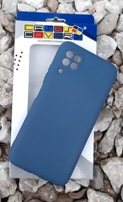Case Silicona Huawei P40 Lite, Azul Oscuro