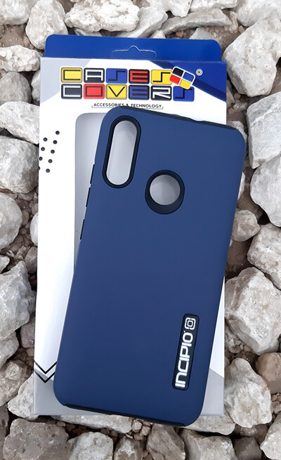 Case Dual Pro Incipio para Motorola E6 Plus, Azul