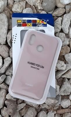 Case silicone Huawei P20 Lite, Palo Rosa