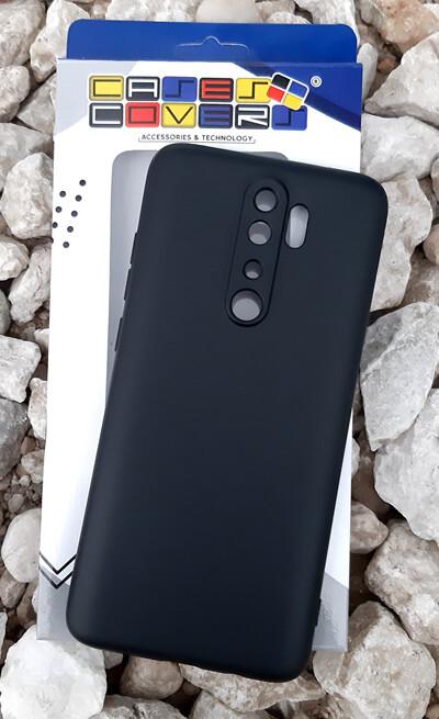 Case de Silicona Redmi Note8 Pro - Negro