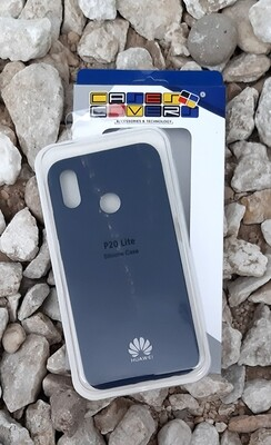 Case silicone Huawei P20 Lite, Azul