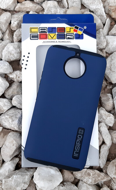 Case Dual Pro Incipio Motorola G5S Plus, Azul