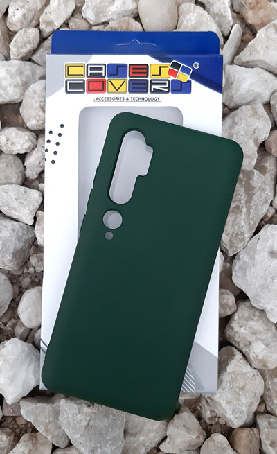 Case de Silicona Redmi Note10 -Verde Militar