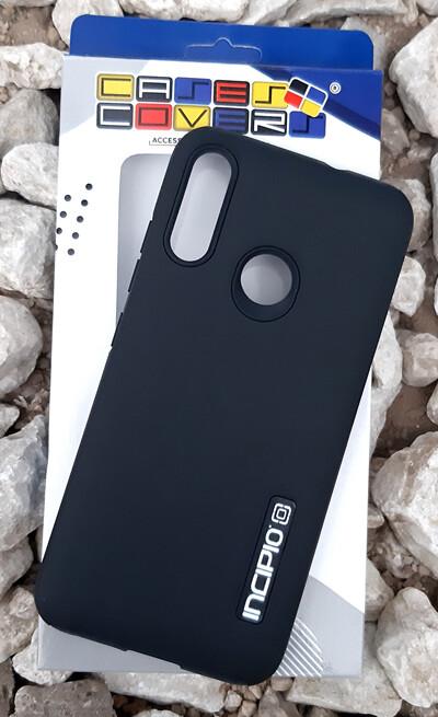 Case Dual Pro Incipio para Motorola E6 Plus, Negro