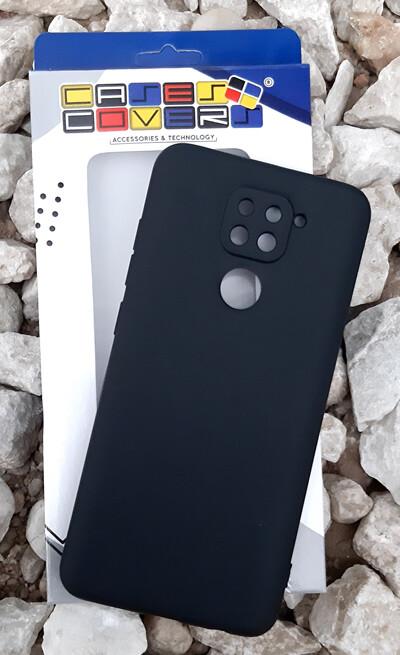 Case de Silicona Redmi Note9 - Negro