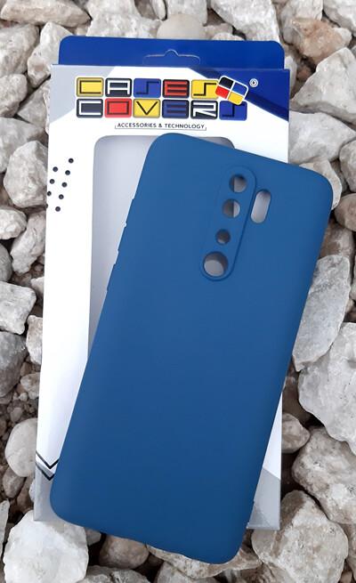 Case de Silicona Redmi Note8 Pro - Azul