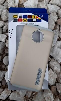 Case Dual Pro Incipio Moto E5 Play Go, Dorado