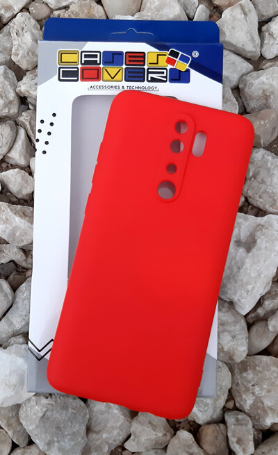 Case de Silicona Redmi Note8 Pro - Rojo