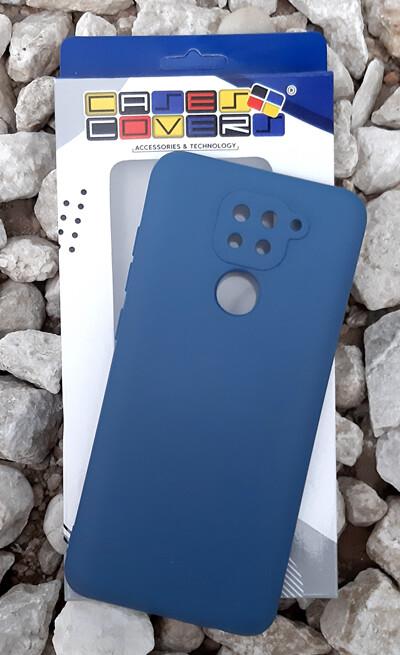 Case de Silicona Redmi Note9 - Azul