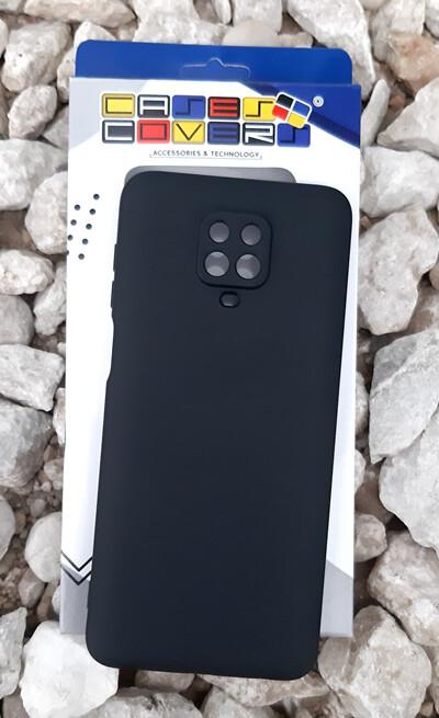 Case de Silicona Redmi Note9 Pro - Negro