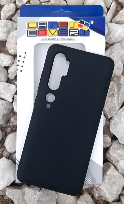 Case de Silicona Redmi Note10 - Negro
