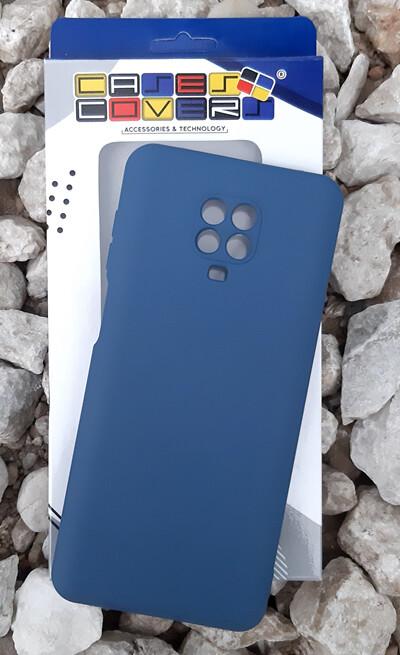 Case de Silicona Redmi Note9 Pro - Azul