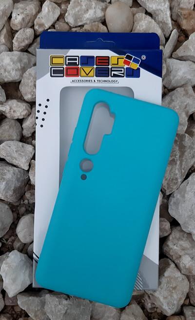 Case de Silicona Redmi Note10 - Verde Menta