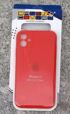 Case de Silicona Iphone 11, Rojo