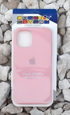 Case de Silicona iPhone 12 Pro Max, Rosado