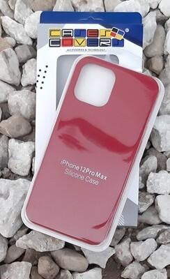 Case de Silicona iPhone 12 Pro Max, Cereza