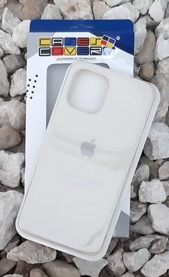 Case de Silicona iPhone 12 Pro Max, Crema