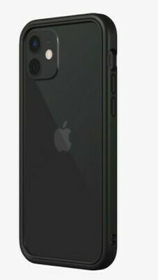 Bumper RhinoShield CrashGuard NX para iPhone 12/12 Pro, Negro