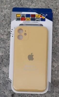Case de Silicona Iphone 11, Amarillo
