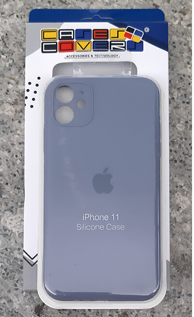 Case silicone Iphone 11, Lila
