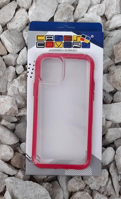 Case Iphone 11 Pro, Transparente Rosa