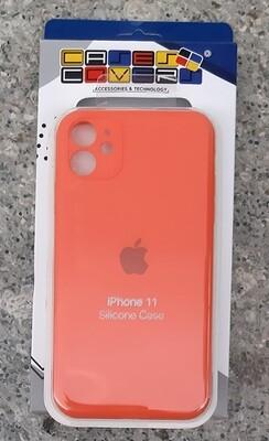 Case de Silicona Iphone 11, Naranja