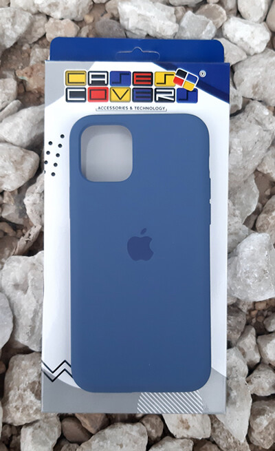 Case silicone Iphone 11 Pro, Azul