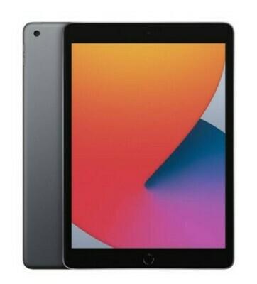 """iPad 8va generación de 10,2"""", 128GB, WiFi - Negro. OBSEQUIO Estuche Smartcase ó Estuche de Niños"""