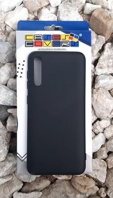 Case de silicona Samsung Galaxy A30S, Color Negro