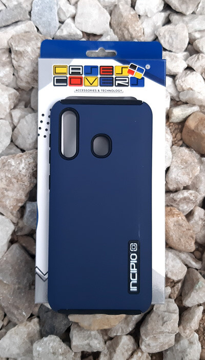 Case Dual Pro Incipio Samsung Galaxy A30, Azul/Negro