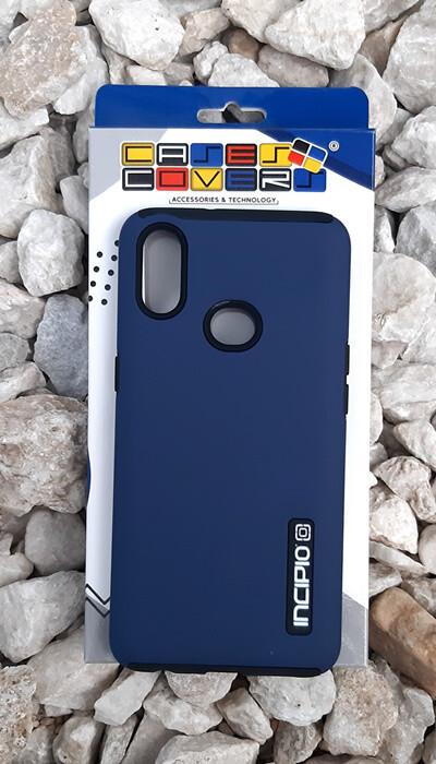 Case Dual Pro Incipio Samsung Galaxy A10S, Azul/Negro