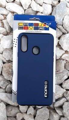 Case Dual Pro Incipio Samsung Galaxy A20S, Azul/Negro