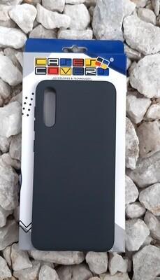 Case de silicona Samsung Galaxy A50, Negro