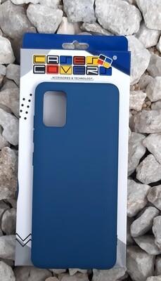 Case de silicona Samsung Galaxy A51, Azul