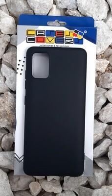 Case de silicona Samsung Galaxy A51, Negro