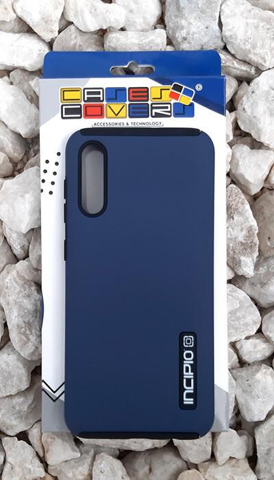 Case Dual Pro Incipio Samsung Galaxy A50, Azul/Negro