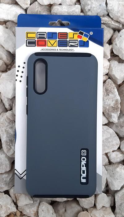 Case Dual Pro Incipio Samsung Galaxy A50, Gris/Negro