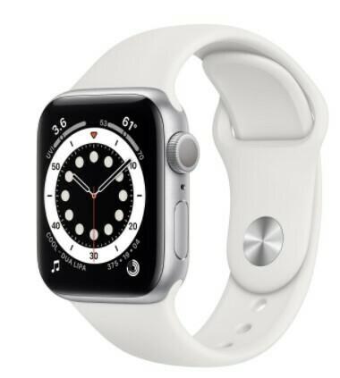 Apple Watch Series 6 - 40mm, Color Plateado