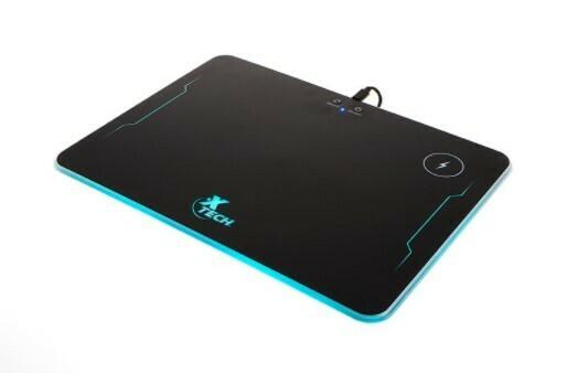 Spectrum | Alfombrilla para mouse con cargador inalámbrico y RGB
