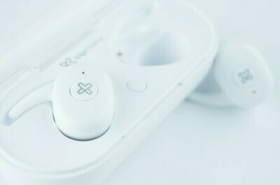 Audífonos Inalámbricos Klipxtreme TwinBuds II, Blancos